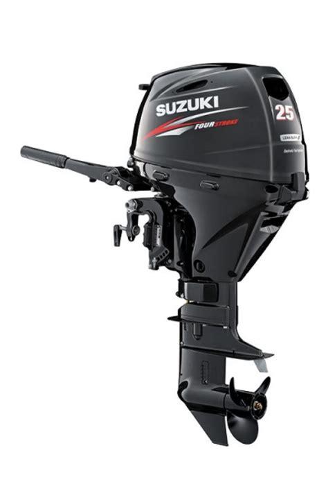 Suzuki 4 Stroke Outboard by Boat Listing Suzuki Df25a Light Weight Four Stroke Outboard