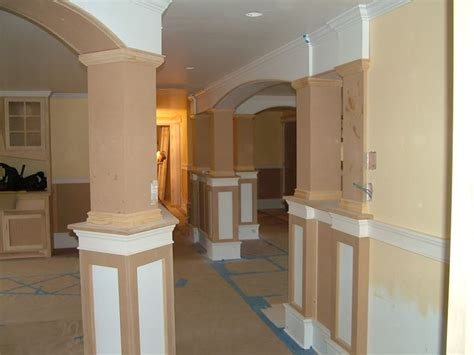 interior home columns 18 best images about columns on pinterest columns home renovation and trim work