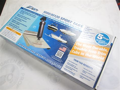 Boat Trim Tabs Uk by 10 Quot X 12 Quot Sport Trim Tab Kit W Switch M120 For