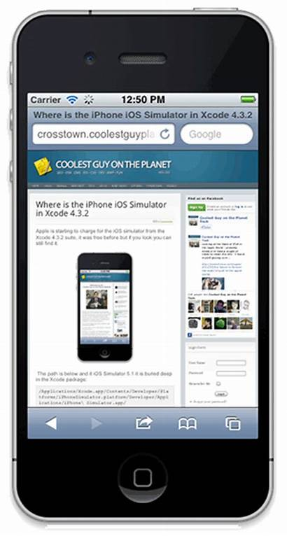 Xcode Simulator Ios Iphone Obvious Location Application