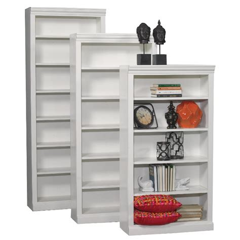 Bookcase Furniture Store by 84 Inch White Contemporary Bookcase Rc Willey Furniture