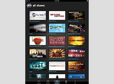 Watch Any ABC Show On Your iPad With ABC Player