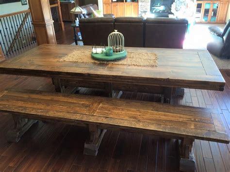 triple pedestal dining table