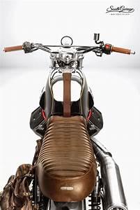 Racing Caf U00e8  Moto Guzzi V7  U0026quot Ibis U0026quot  By South Garage Motorcycles