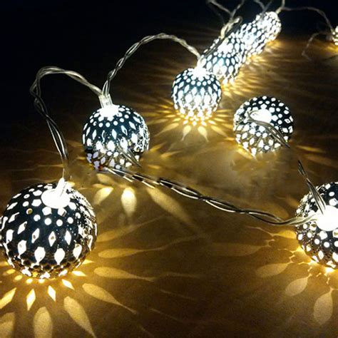 battery operated outdoor fairy lights 20 ball battery operated led fairy string lights garden