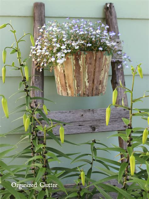 My Friend Danita's Rustic Garden Decor  Organized Clutter