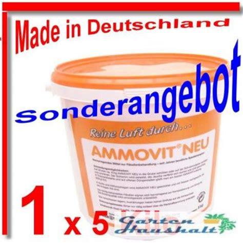 Dünger Mit Moosvernichter by Ammovit 174 Neu F 228 Kalien Zersetzung D 252 Nger F Rasen