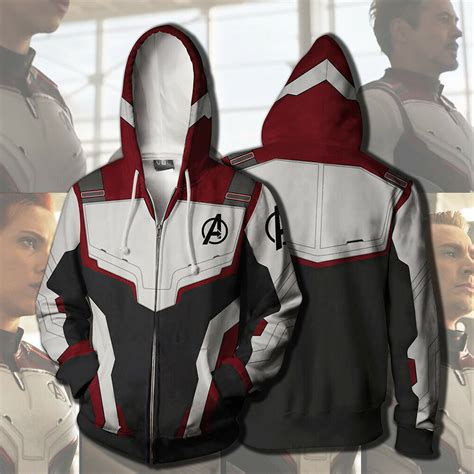 avengers hoodie cosplay superhero advanced tech
