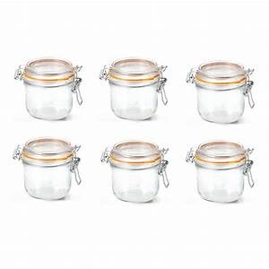 Bocaux Le Parfait Prix : le parfait lot de 6 terrines super 200 ml 70 mm bocaux ~ Premium-room.com Idées de Décoration