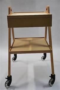 Servante A Roulette : mobilier sur mesure table servante roulette vintage 60 ~ Melissatoandfro.com Idées de Décoration