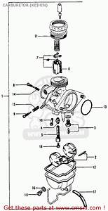 Honda S65 Sport 1965 Usa Carburetor  Keihin