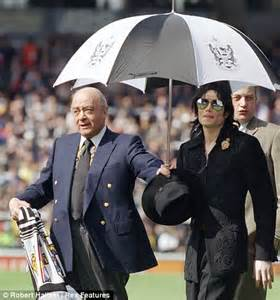 Craven Cottage Michael Jackson by Fulham Supporters Bewildered At Michael Jackson Statue