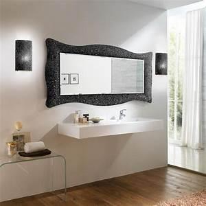 Decouvrez notre collection de miroir baroque en 168x73 cm noir for Miroir noir salle de bain