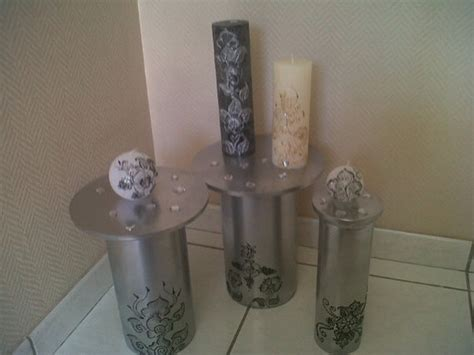 bougie de decoration fait accessoires de maison par