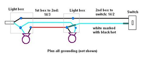 Ohw View Topic Electrical Switch Loop With Two Light