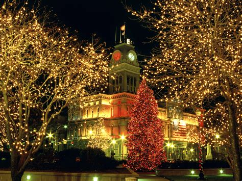 Natchitoches Lights 2014 21 stunningly beautiful christmas desktop wallpapers