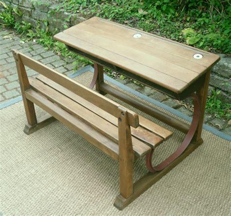 bureau ancien le bon coin ancien pupitre d 233 colier 2 places en bois marcel roy fabricant mobilier scolaire 224