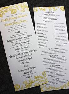 wedding ceremony program wording awesome wedding stuff With wedding program wording ideas