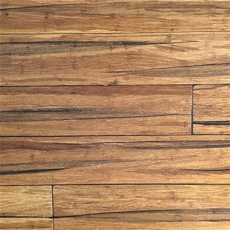 EcoFusion Wide Plank Solid Bamboo Flooring, Peppercorn