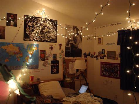 headboard bedroom string lights modern  design ideas