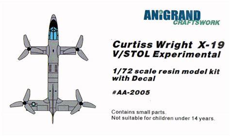 Curtiss-Wright X-19 VTOL by Anigrand