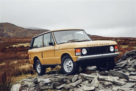 Land Rover Resurrecting Original Range Rover