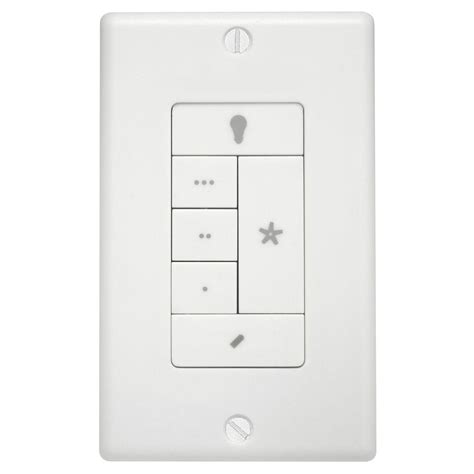 hunter fan light wall remote control 99120 the home depot
