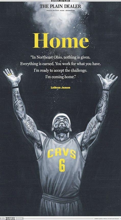 LeBron James returning to Cleveland Cavaliers | Daily Mail ...