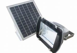 Led outdoor solar powered wall mount flood light