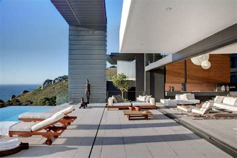 luxury sun deck sea view interior design ideas
