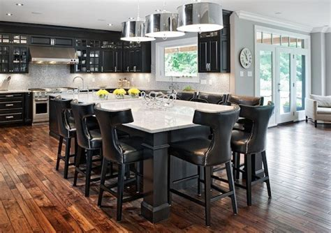 seating kitchen islands improving your kitchen functionality with an island