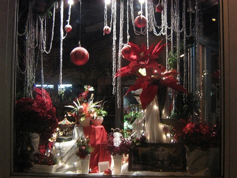 storefront decorations christmas elegant