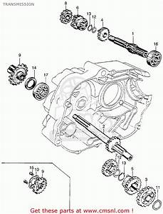 honda ct90 trail 1966 k0 usa transmission buy With honda ct90 trail 90 k0 1966 usa serial numbers schematic partsfiche