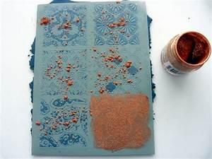 Pate A Bois Comment L Utiliser : comment utiliser un silk screen sur la p te polym re et ~ Dailycaller-alerts.com Idées de Décoration