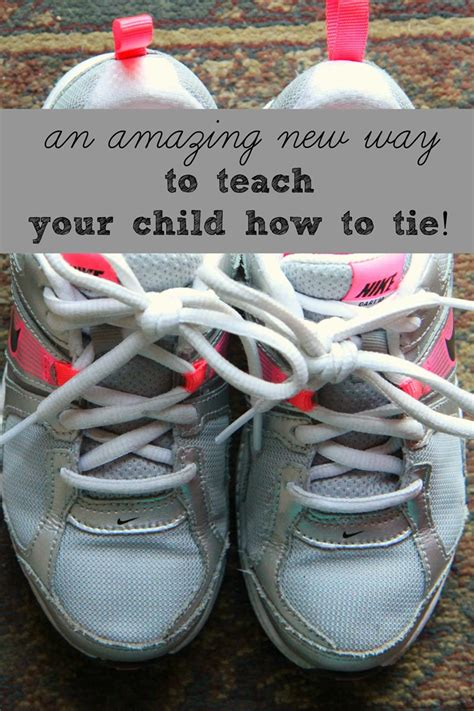 A New Way To Teach Your Child To Tie Their Shoes Momadvice