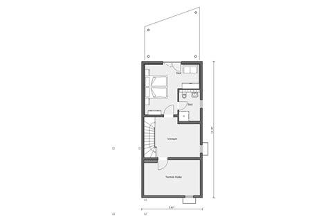 schmale häuser grundrisse schmales hauskonzept schw 246 rerhaus