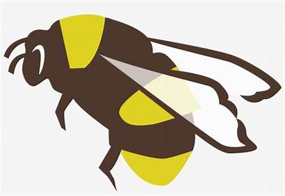Pollinator Bumble Bee Clipart Patched Rusty Bumblebee
