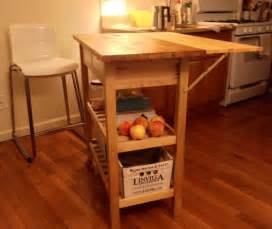 kitchen island cart with breakfast bar kitchen cart with drop leaf extension ikea hackers
