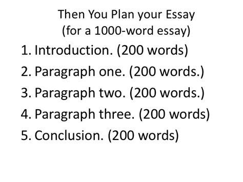 1500 word essay example