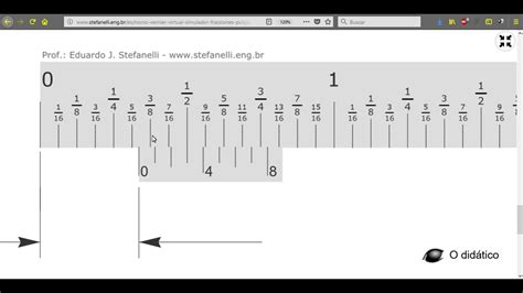 """Nonio (Vernier) en fracciones de pulgada 1/128"""" YouTube"""