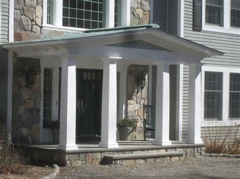 hand crafted front porch remodel bedford ny  studio