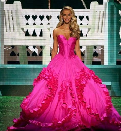 miss usa 2015 evening gown hit or miss