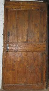Porte En Bois Intérieur : porte interieure pleine menuiserie hijosa et fils ~ Preciouscoupons.com Idées de Décoration