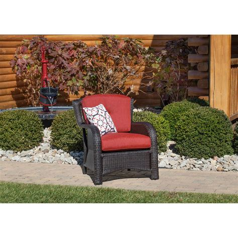 strathmere 6 seating set in crimson