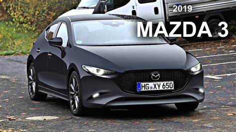 mazda  spy shot render preview youtube
