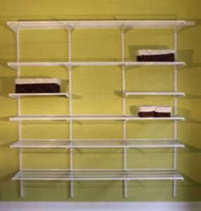 72 inch adjust shelf closet with adjustable shelves
