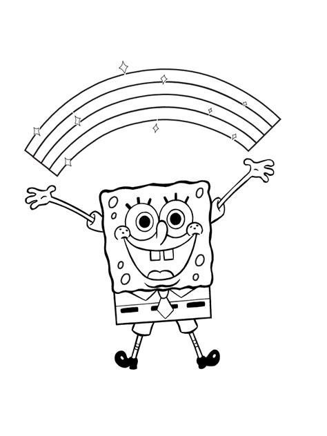 spongebob coloring pages  kids  activity shelter