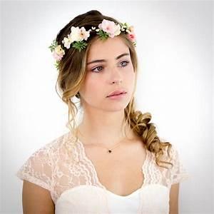 Couronne De Fleurs Mariée : couronne mariage fleurs pivoine etc ~ Farleysfitness.com Idées de Décoration