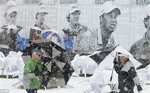Snow play today! Rare blizzard stops golf championship in ...