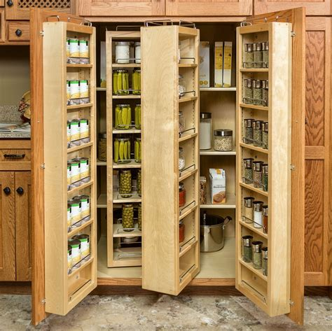 wood kitchen storage pantry cabinets to utilize your kitchen custom home design 1146